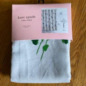 Kate spade shower curtain, NWT
